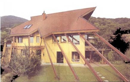 Дом с выступами фото