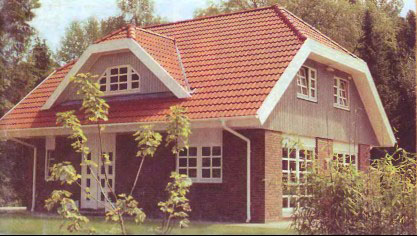По запросу крыша дома с мансардой