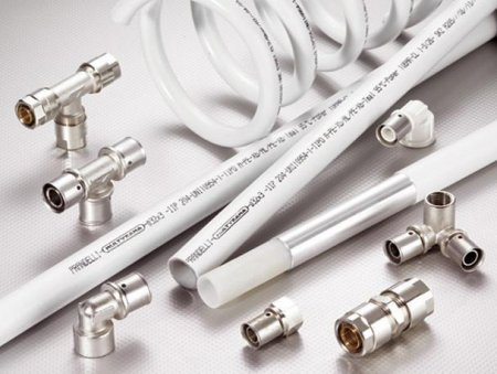 Пресс-фитинги для соединения металлопластиковых труб Prandelli Multyrama