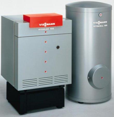 Котлы Veissmann  Vitogas 100 + Vitocell 100