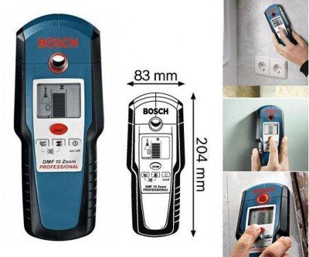 Универсальный детектор Bosch DMFIOZoom Professional