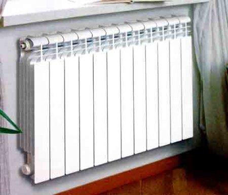 Секционный алюминиевый радиатор Elegance