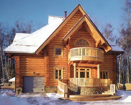 Дома из бруса под ключ от «СлавСтройДом»