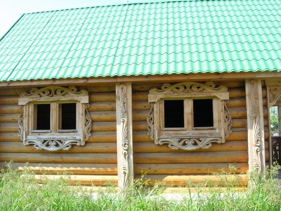 Диаметр бревна 220 мм, дома из дерева под ключ, дача, строительство
