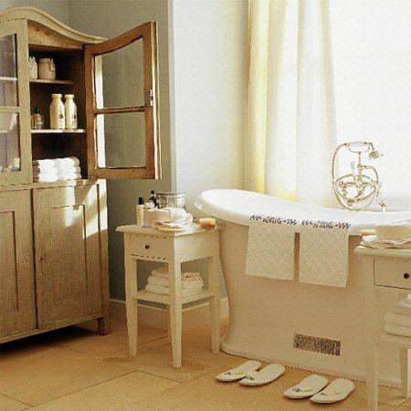Каковы характерные черты стиля ванных комнат
