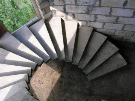 Изготовление лестниц монолитных