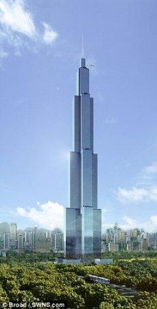 Китайские строители решили за 90 дней построить 220-этажный дом