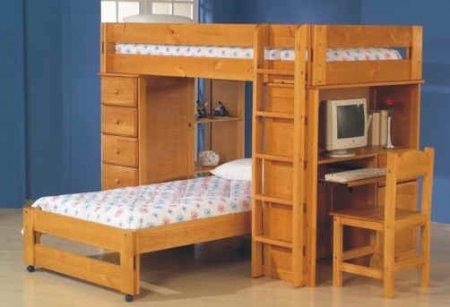 Устройство двухэтажной кровати для детей