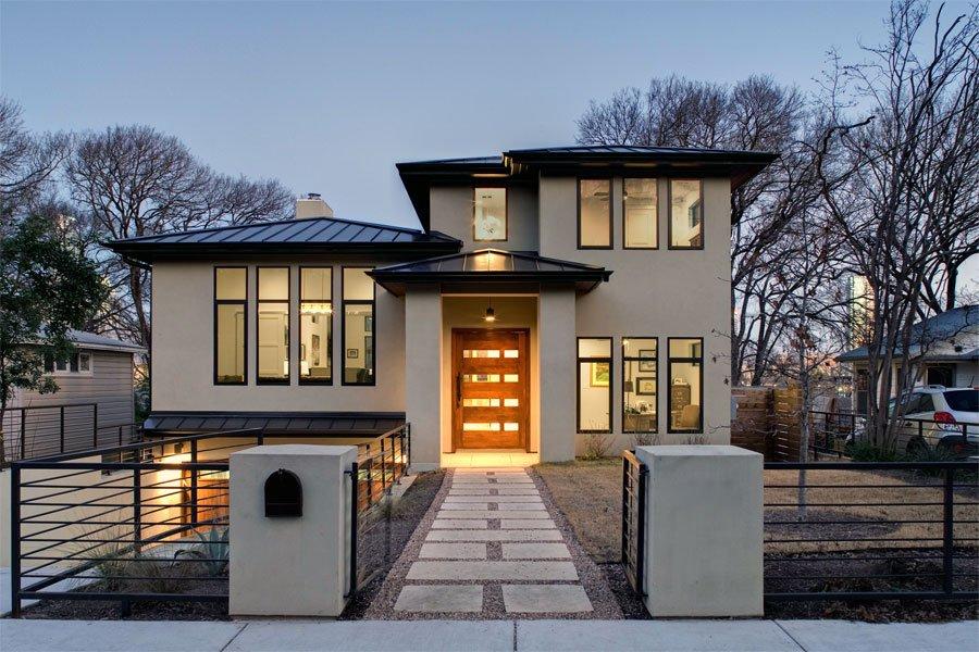 Stavba za hišo