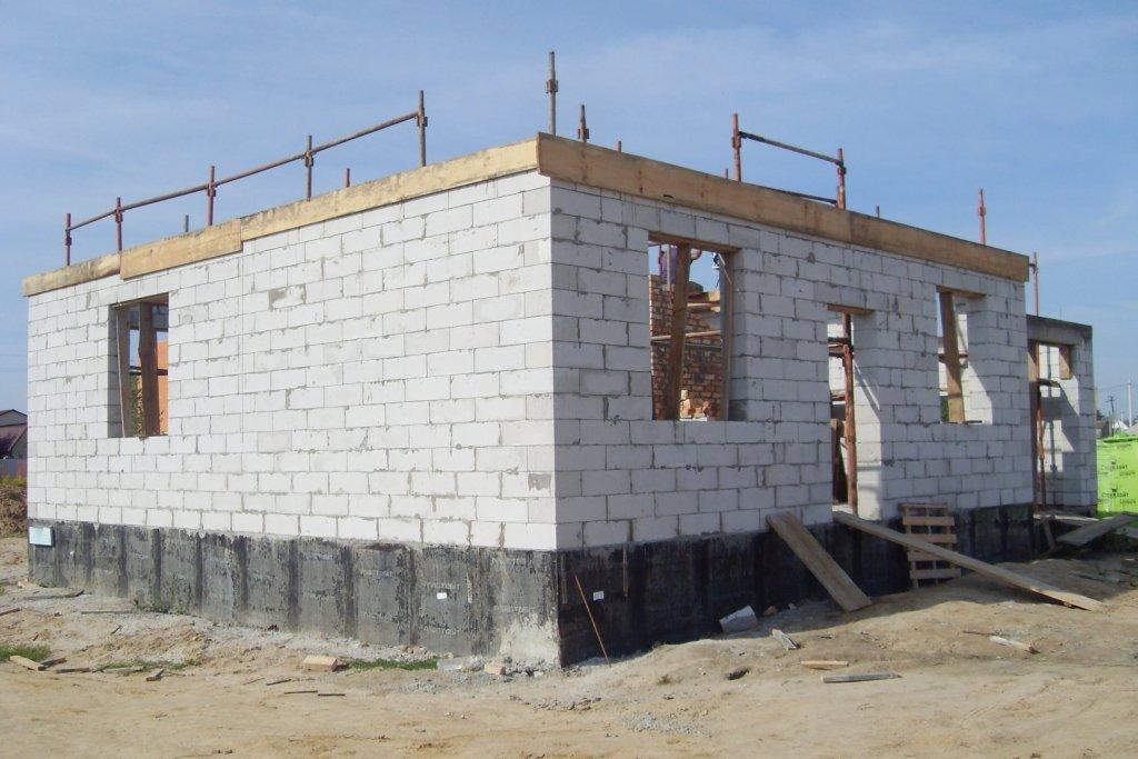 Строим дом  газоблок