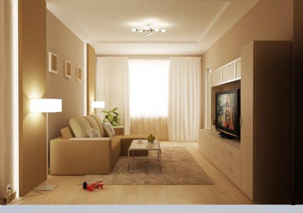 Необычный дизайн маленьких комнат