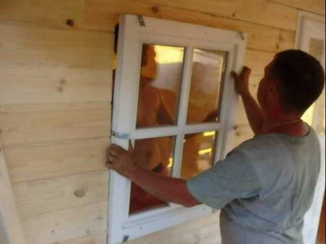 Как вставлять правильно окна пластиковые своими руками