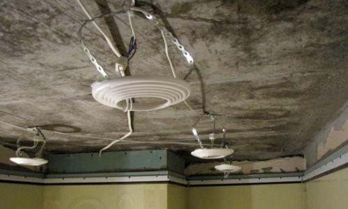Светильник из светодиодных лампочек своими руками