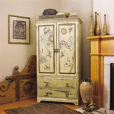 Новая жизнь старой мебели своими руками мастер класс