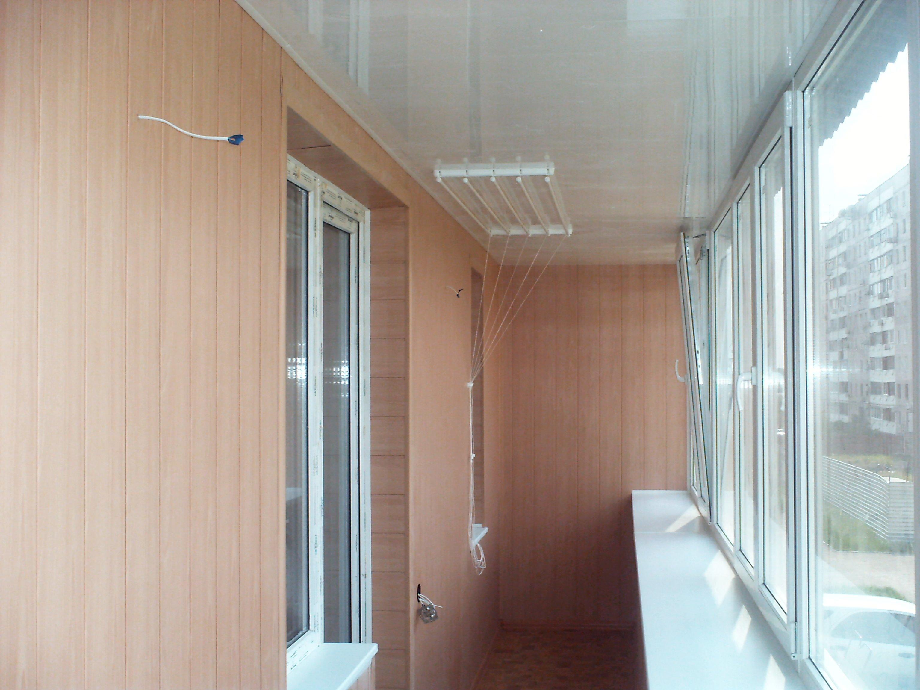 Утепление и отделка балконов и лоджий фото..