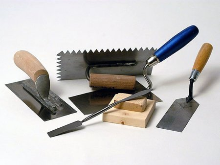 Строительные материалы для отделочных работ