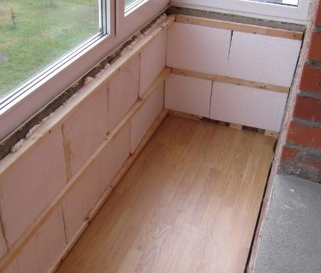 Максимальное утепление балкона лоджии присоединение.