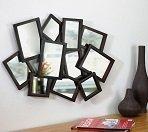 Способы декорирования стен зеркалами