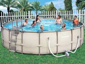 Насколько хорош бассейн для дачи каркасный? Преимущества и недостатки