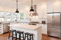 Как организовать освещение кухни