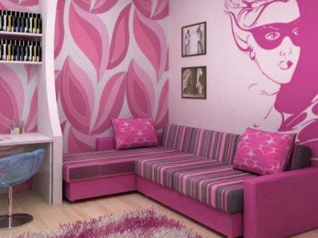 Комната для девушки – дизайн своими руками