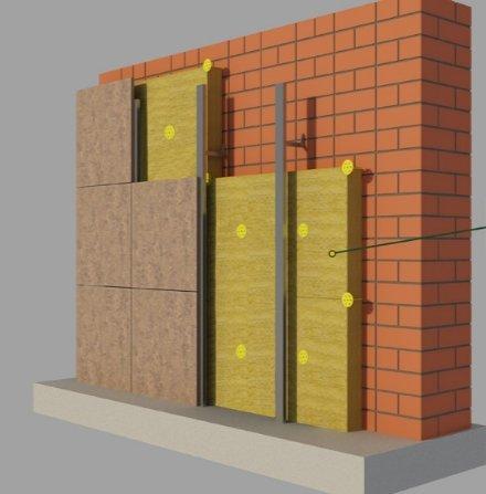 Утепление фасадов: самые распространенные варианты
