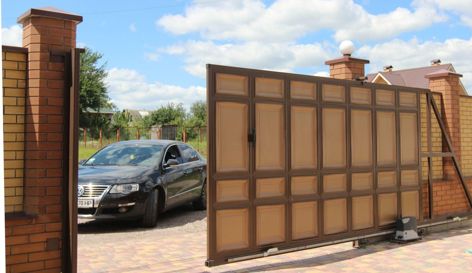 Ворота въезные ворота автоматические прайс калитка