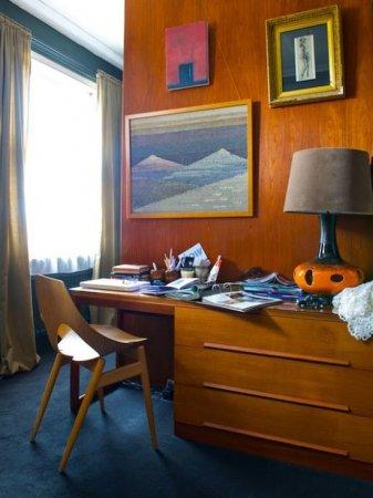 Офіс в стилі mid-century