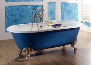 Чугунные ванны: достоинства и недостатки