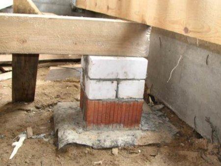 Частный дом: монтаж пола на грунте