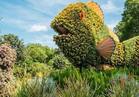 Невероятные примеры паркового искусства