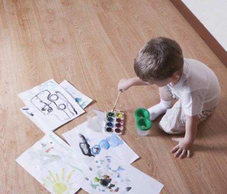 Пол в детской: наиболее подходящие варианты обустройства