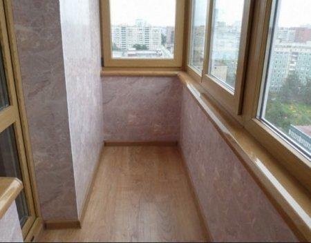 Стены на балконе: наиболее популярные варианты обустройства