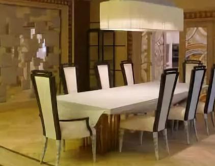 Обустраиваем большую столовую после ремонта