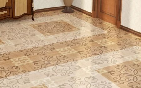Керамогранит и керамическая плитка в прихожей