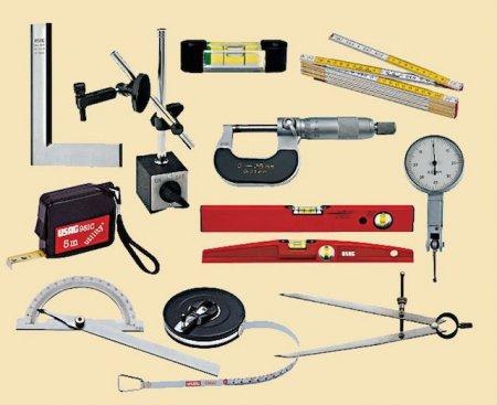 Измерительные инструменты, которые могут понадобиться для проведения отделочных работ