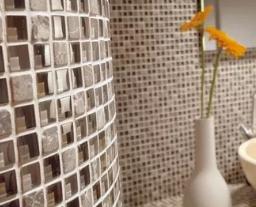 Плитка из мозаики для ванной