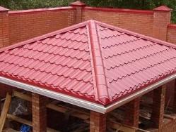 Вальмовая крыша: особенности, достоинства, недостатки