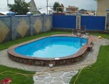 Строительство уличных бассейнов для дачи