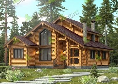 Чем покрасить дом из оцилиндрованного бревна