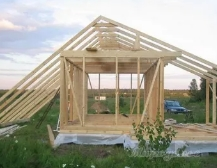 Пошаговая стройка садового домика для дачи
