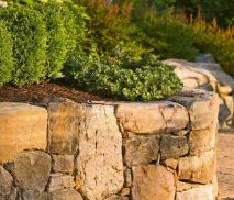 Виды натурального камня, используемые для создания ландшафта