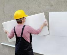 Как утеплить стены пенопластом?