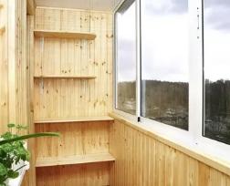 Доступная обшивка для балкона
