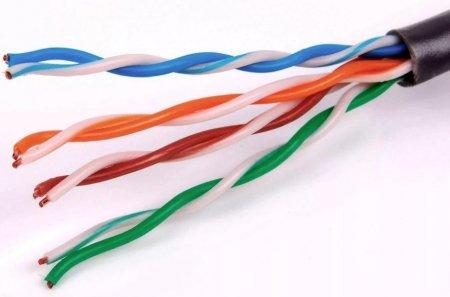Где применяется кабель витая пара