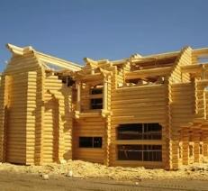 Этапы строительства коттеджей из дерева