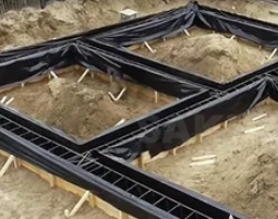 Как построить ленточный фундамент без спецтехники