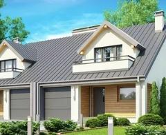 Чем привлекательны проекты домов на две семьи?