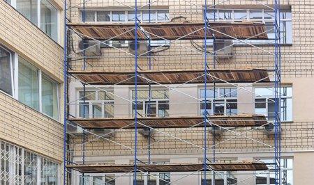Строительные леса ЛРСП-100: особенности, конструкция, преимущества аренды