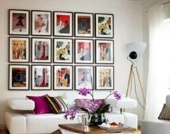 Картины в интерьере: искусство украшения дома